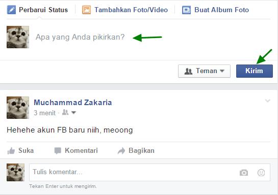 bagaimana cara membuat/ mendaftar akun facebook baru