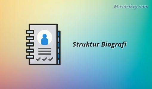Struktur biografi