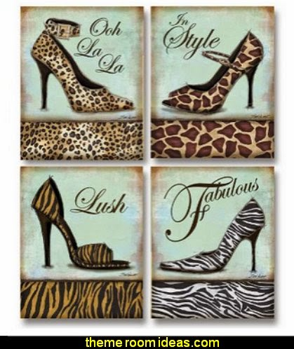 Fashion Shoe - mini, Mini Prints Art Print Poster by Todd Williams