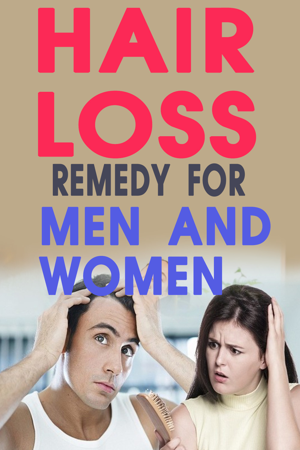hair loss remedy for women and men