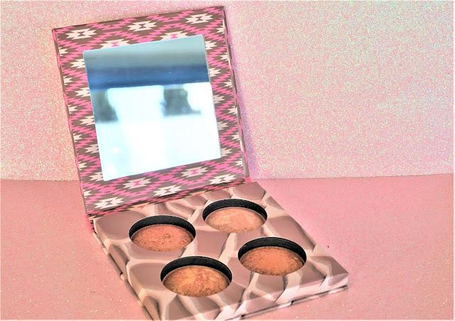 Wild & Radiant, palette de poudres cuites illuminatrices et bronzantes miroir