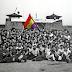 Una tricolor elaborada en Mauthausen presente en el homenaje a los exiliados españoles del Senado.