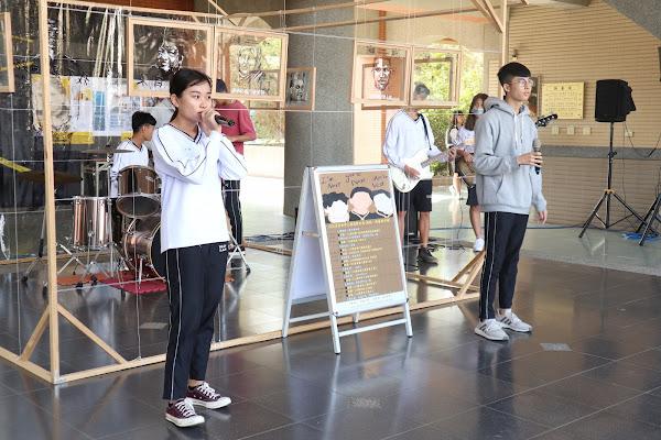 員林高中呼應世界人權日 用藝術行動活化人權教育