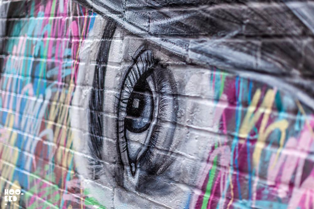 Inka Williams Mural by London Street Artist Ant Carver