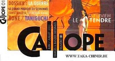 Revue Calliope sur yaka-chiner.be