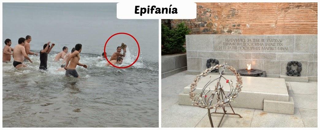 Epifanía en Bulgaria