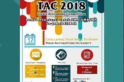 Lomba Akuntansi SMA : TAC 2018