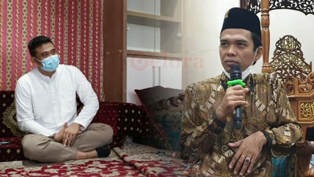 Bobby Mantu Jokowi Hadiri Pengajian UAS, Don Adam: Pilkada Sudah Dekat