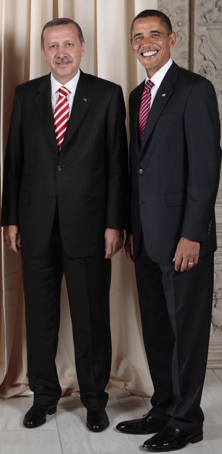 Daled Amos Obama Praises Turkey S Erdogan As Erdogan Puts