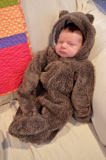 baby bear bunting- An Earth-Friendly, Made In America Baby Registry- Part Two - Dressing and Bathing your Baby