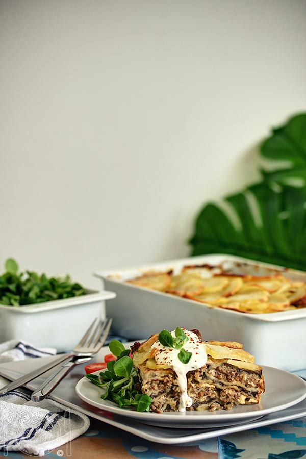 Musaka od patlidžana i krompira
