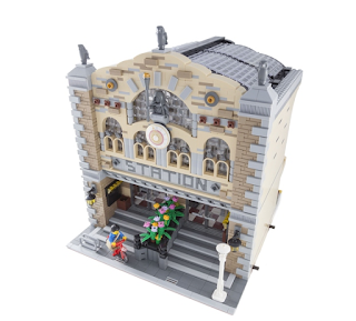 LEGO Ideas Modular Train Station