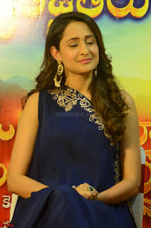 Pragya Jaiswal in beautiful Blue Gown Spicy Latest Pics February 2017 119.JPG