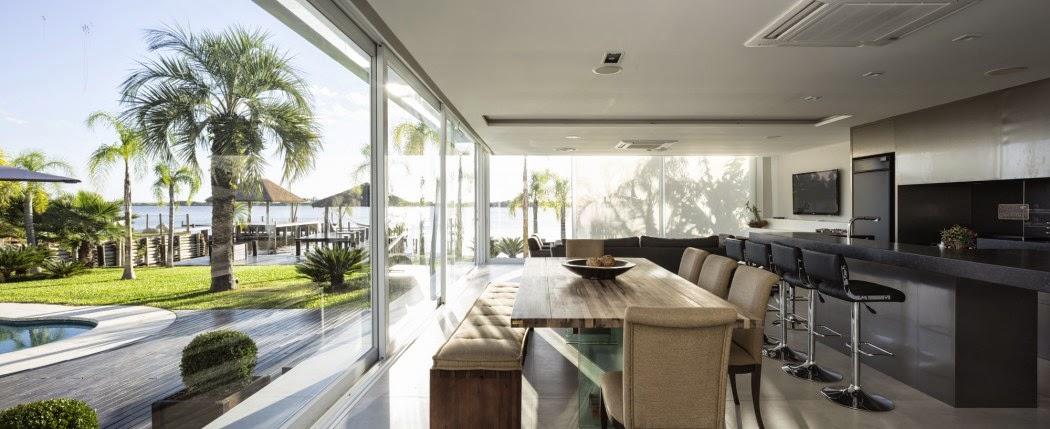 Casa en la piscina kali arquitectura arquitectura y - Casas con piscina interior ...