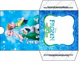 Frozen Fiebre Congelante: Imprimibles Gratis para Fiestas.