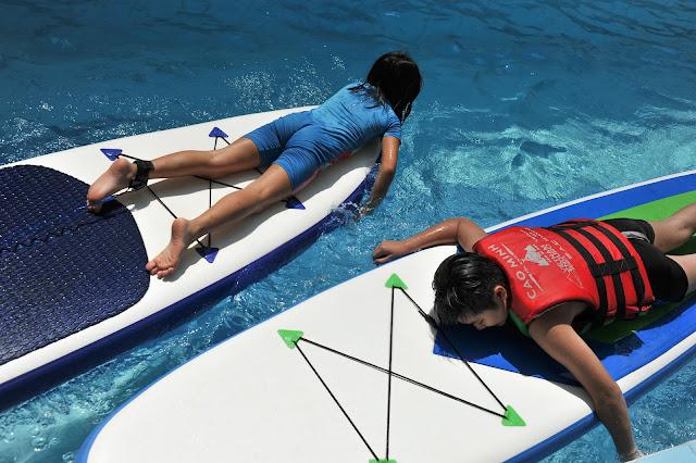 Chương trình training Chèo SUP trong hồ bơi tại TPHCM