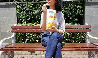 Oishi Rin-bee snack gratis