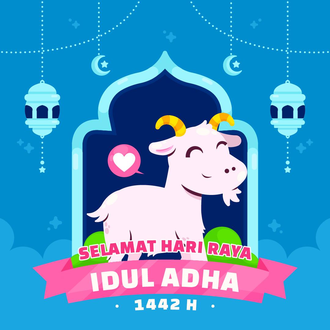 Gambar Ucapan Selamat Hari Raya Idul Adha 1442 H / 2021 M