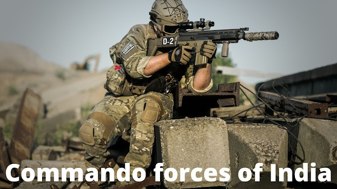 Commando forces of India