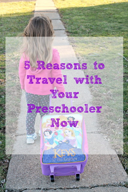 Come find out why there is no time like the present to get traveling with your little ones with these 5 Reasons to Travel with Your Preschooler Now.
