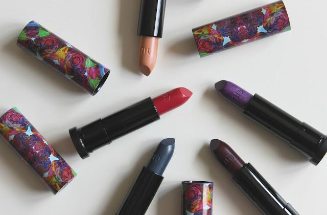 Urban Decay Alice in Wonderland Lipsticks Review
