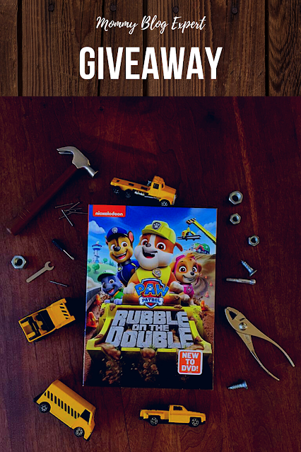 Paw Patrol Rubble on the Double DVD Review Giveaway