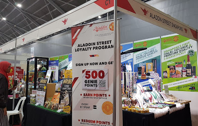 E-marketplace Aladdin Street had a recruitment programme on.