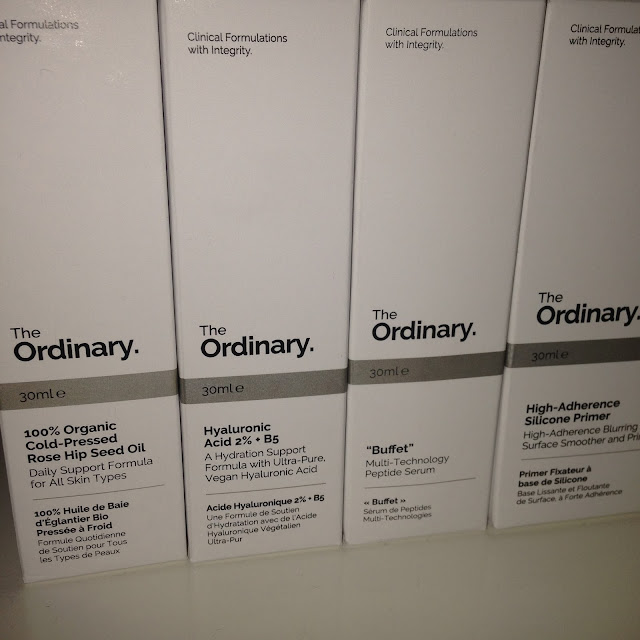 The Ordinary rose hip seed oil hyaluronic acid buffet primer