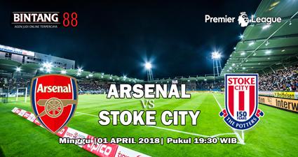 Prediksi Arsenal vs Stoke City 1 April 2018