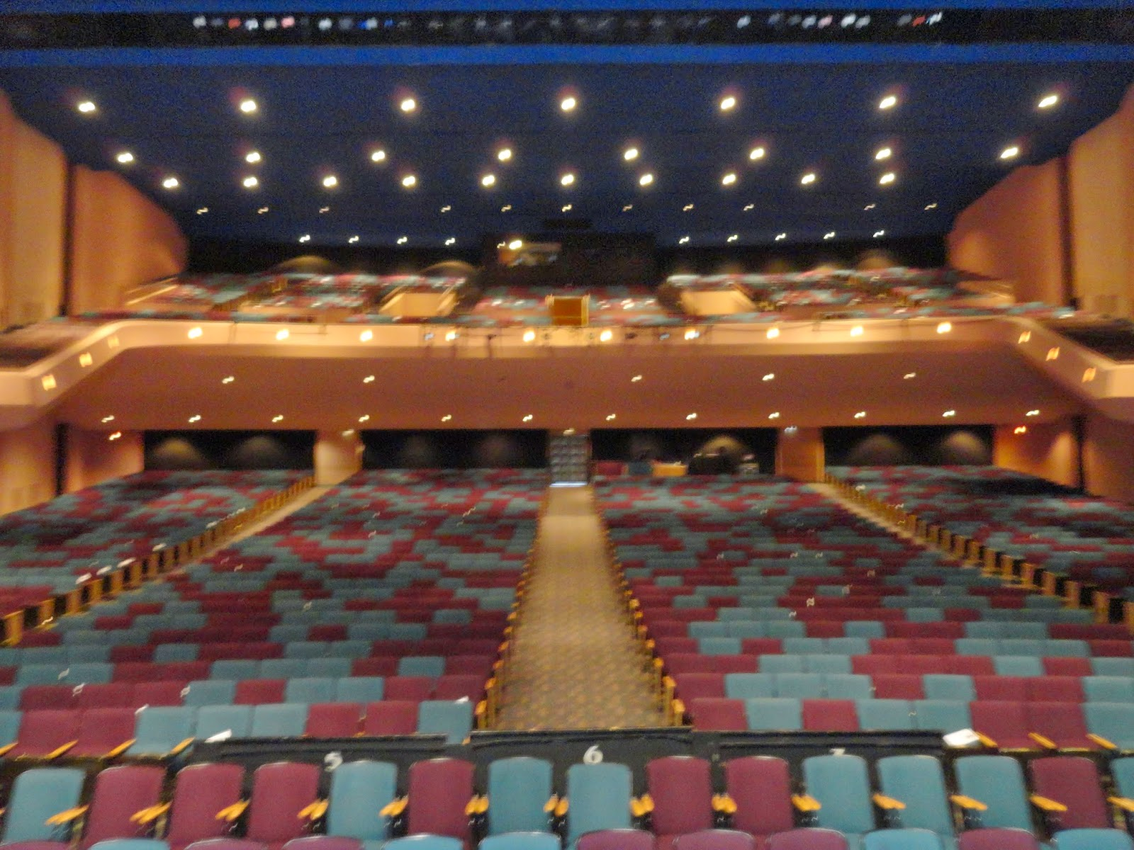 Stranahan Theater Toledo Seating