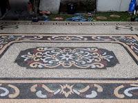 Galeri foto best batu sikat motif bali - jasa pasang batu sikat di Gresik