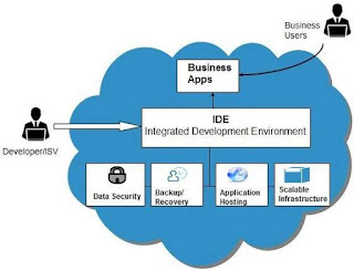 السحابة المحاسبة المنصة كخدمة platform as services