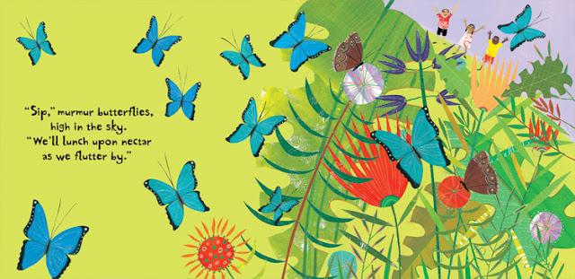 Rainforest Illustration: Barefoot Books-LadyD