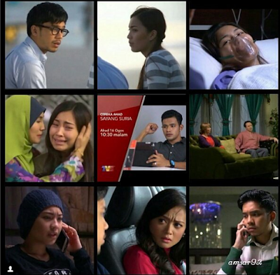 Telemovie, Telefilem, Sayang Suria, Telemovie Sayang Suria, Sinopsis Sayang Suria, Cerekarama, TV3, Sayang Suria Cast, Pelakon Telemovie Sayang Suria, Janna Nick, Hafeez Mikail, Hafreez Adam, Faye Kusairi, Marisa Yasmin, Eizlan Yusof, Nabila Huda, Fauzi Nawawi, Lisdawati, Jesse Lim,