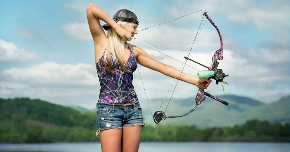 Bow and Arrow Fishing method, technique