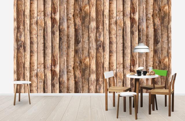Puutapetti Wood Puukuvioinen Tapetti