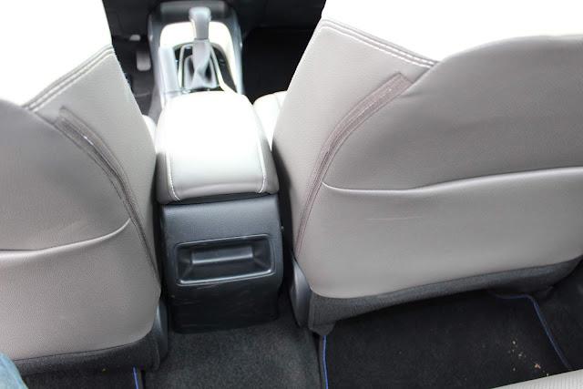 Novo Corolla 2020 Híbrido - não tem saídas de ar traseiras