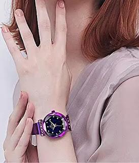 KICAD Starry Sky Diamond Quartz Women's Watch