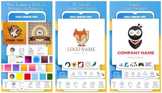 logo maker pro aplikasi untuk membuat logo di hp android