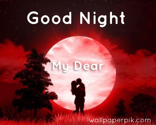 good night my dear image wallpaper photos