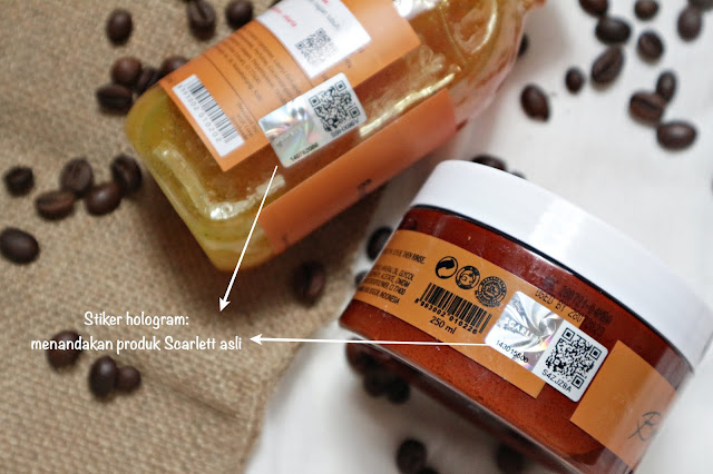 Review Scarlett Body Care Coffee Edition