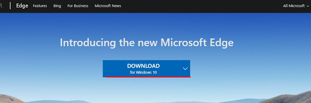 Download the New Microsoft Edge Chromium Browser for Windows 10/8/7 2020