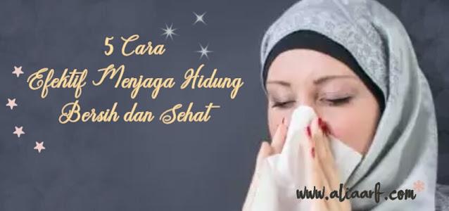cara-efektif-menjaga-hidung-bersih-dan-sehat
