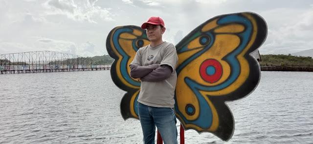 Bumdes Tuah Sato Desa Subah kerja gotong royong bangun Wisata Danau Laet Zona 2