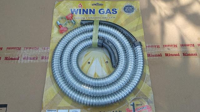Selang Fleksibel LPG Merek WINN GAS