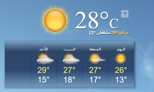 الان الارصاد الجوية.. اخبار الطقس غدا السبت 12-3-2016 اخر توقعات حالة الطقس اليوم ارتفاع درجات الحرارة