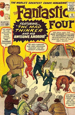 Fantastic Four #15, The Mad Thinker and his awesome android