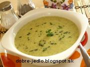 Zelerovo-brokolicová polievka - recept