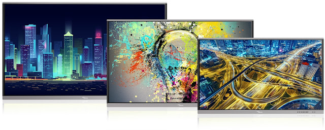 Optoma Introduces Creative Touch 5-Series Interactive Flat Panels