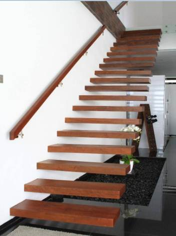 Model Tangga Ruangan Rumah Minimalis Bentuk Melayang